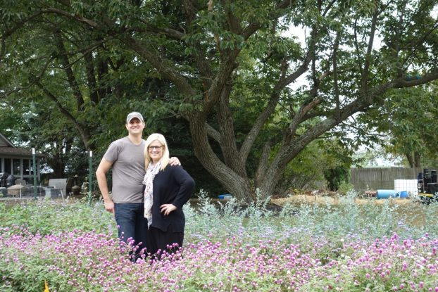 Tom Precht and Sarah Daken