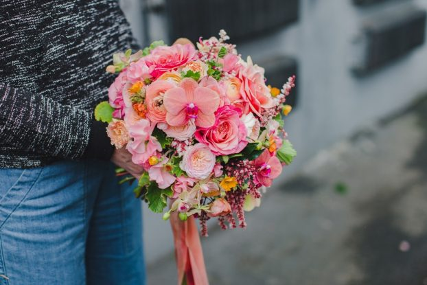 briday bouquet by Anne Bradfield